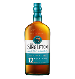 The Singleton of Glendullan, 12 Year Highland Single Malt Scotch - 750mL