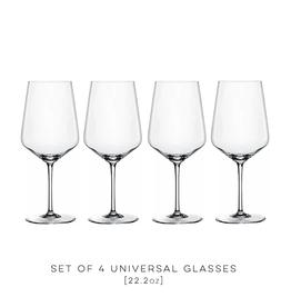 Spiegelau, Universal Wine Glasses