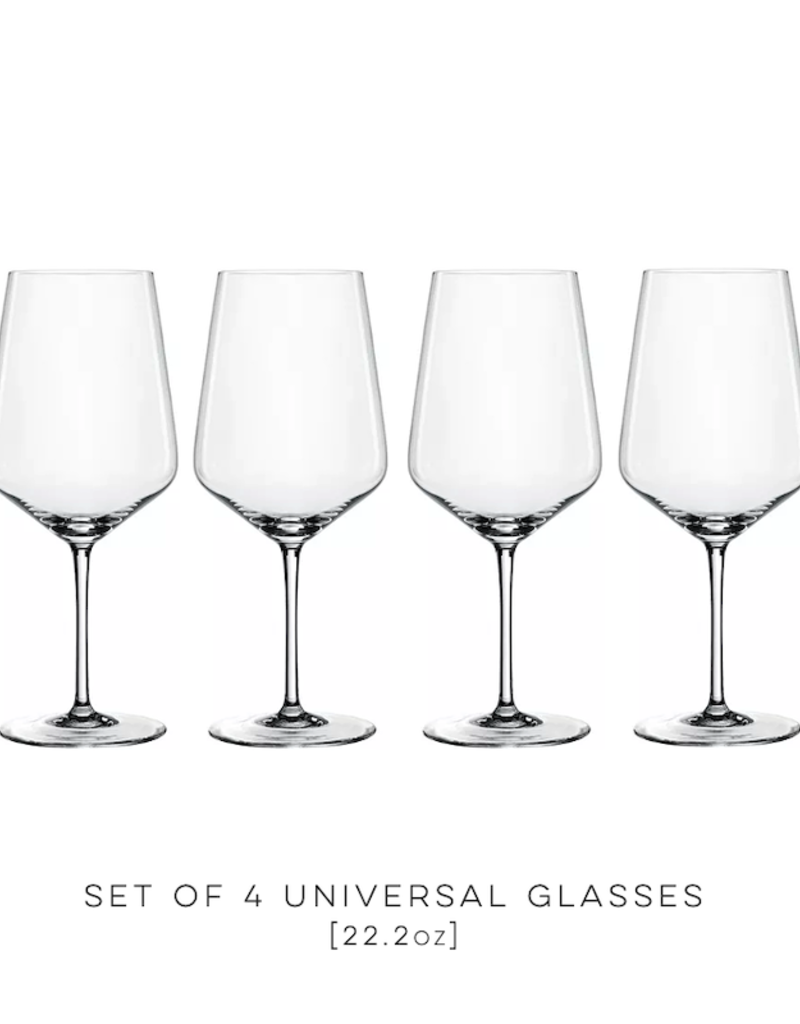 Spiegelau, Universal Wine Glasses (4-pack)