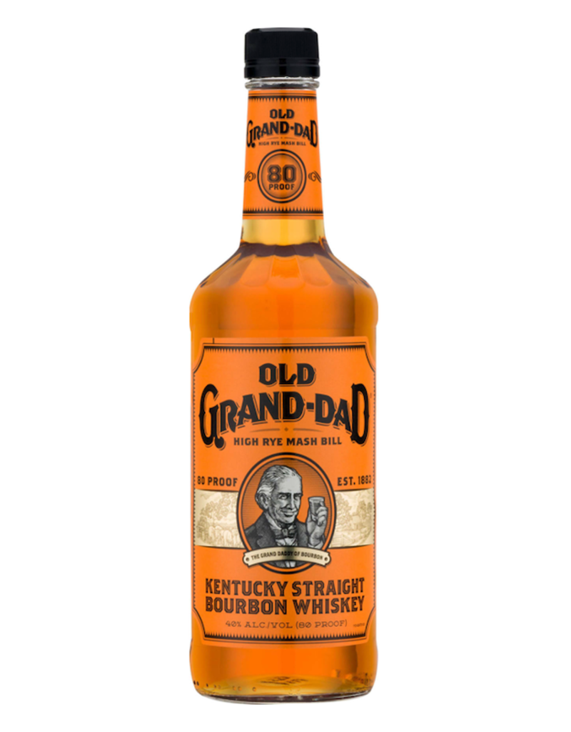 Old Grand Dad, Straight Bourbon Whiskey - 1L