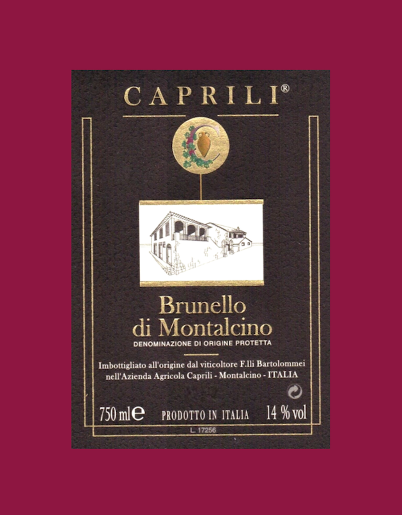 Italy Caprili, Brunello di Montalcino 2016