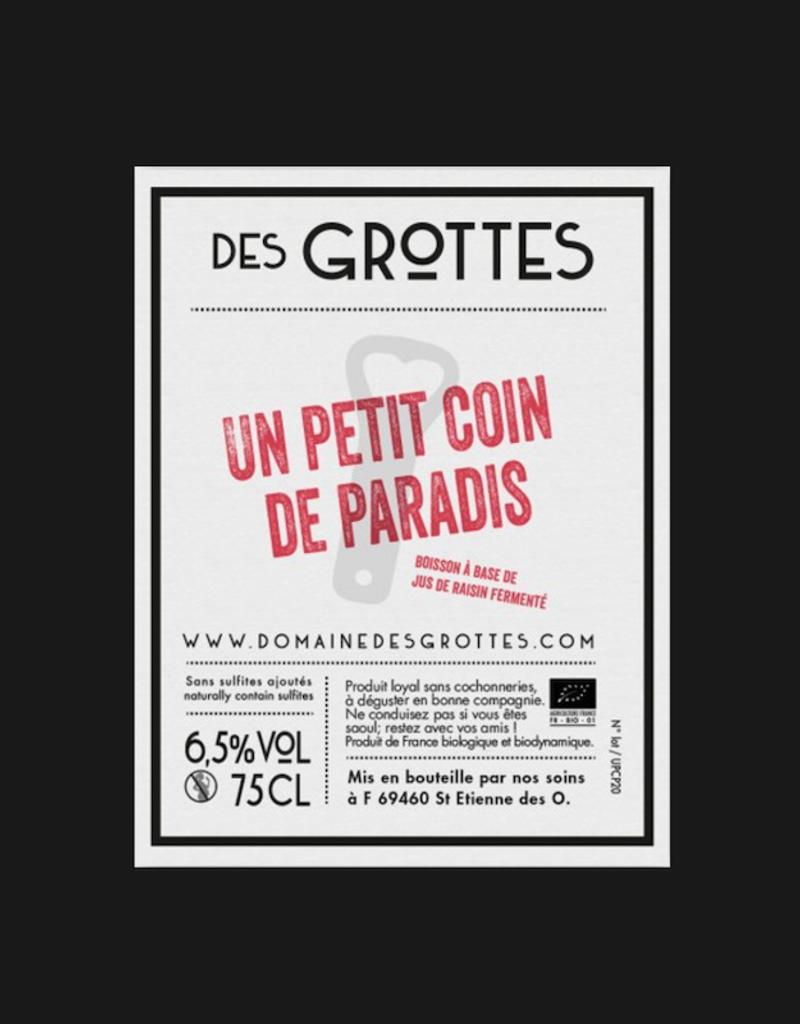 France Domaine Des Grottes, 'Un Petit Coin de Paradise' Pet Nat 2020