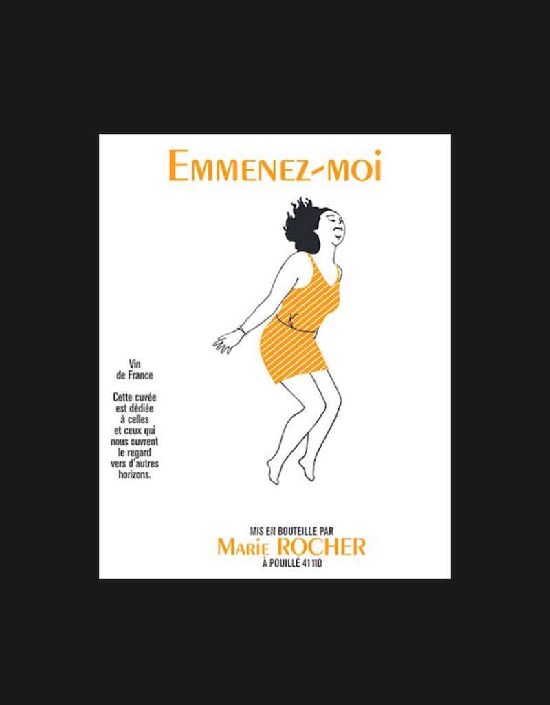 France Marie Rocher, 'Emmenez-Moi' Sauvignon Blanc  2019