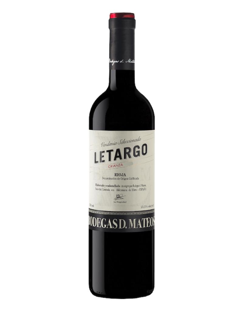 Spain Bodegas D. Mateos, Letargo Rioja Crianza  2018