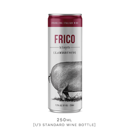 Italy FRICO by Scarpetta, Lambrusco Can - 250mL