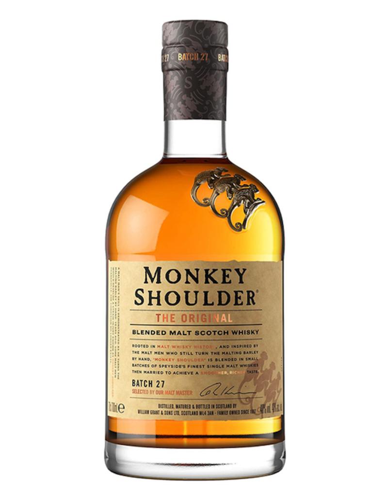 Monkey Shoulder, Blended Speyside Malt Scotch - 750mL