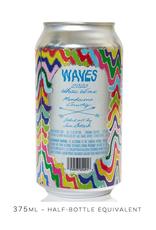 USA Las Jaras, White 'Waves' 2020 Can - 375mL