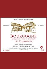 France Prudhon et Fils, 'Les Charmeaux' Bourgogne Rouge 2018