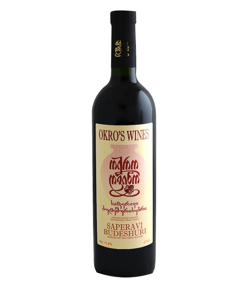 Georgia Okro's Wines, Saperavi Budeshuri 2018