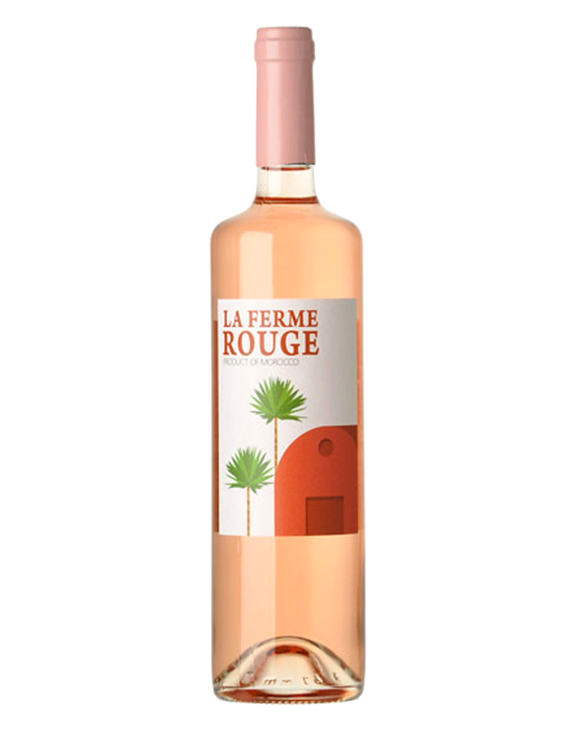 Morocco La Ferme Rouge, Vin Gris Rose Zaer 2020