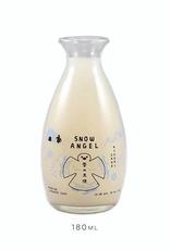Oka, 'Snow Angel' Nigori Sake Cup - 180mL