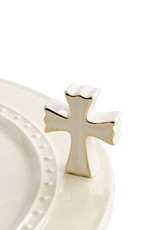 NORA FLEMING CROSS TOPPER