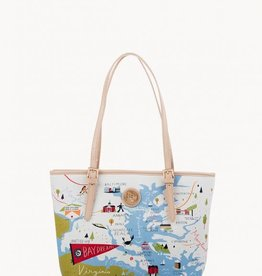 SPARTINA Bay Dreams Small Tote W/ZIPPER