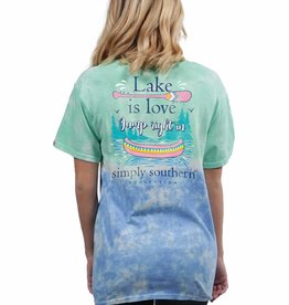 SIMPLY SOUTHERN TEES PREPPY LAKE ISLAND SMALL