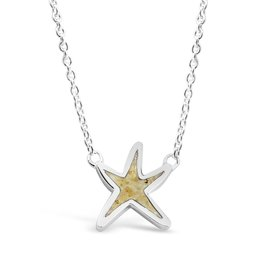 DUNE JEWELRY COAST OF DELAWARE DELICATE STARFISH NECKLACE