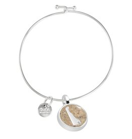 DUNE JEWELRY Beach Bangle FENWICK ISLAND DELAWARE (CIRCLE)