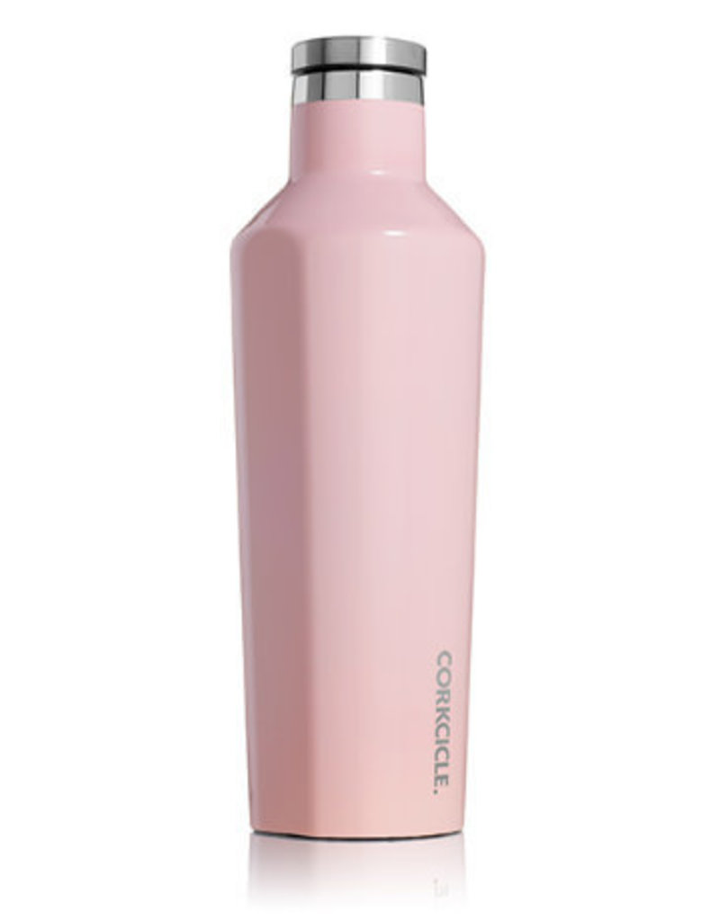 CORKCICLE CANTEEN 16OZ GLOSS ROSE QUARTZ