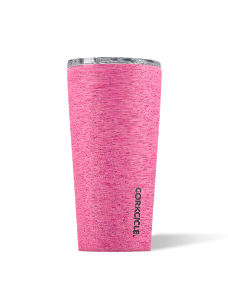 CORKCICLE TUMBLER 16 OZ HEATHERED PINK