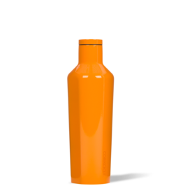 CORKCICLE CANTEEN 16 OZ DIPPED CLEMENTINE blue dot