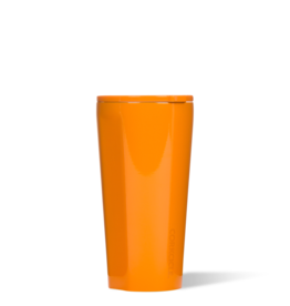 CORKCICLE TUMBLER 16 OZ DIPPED CLEMENTINE blue dot