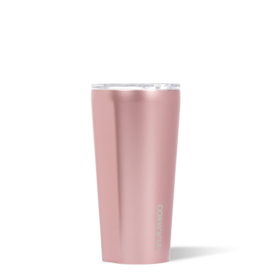 CORKCICLE ROSE METALLIC 16 OZ TUMBLER