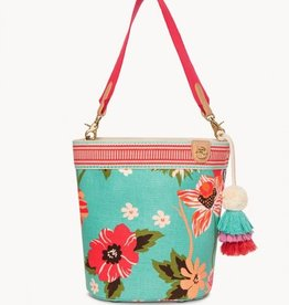 SPARTINA 317 Broughton Boho Bucket blue dot