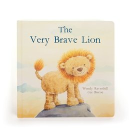 JELLYCAT INC. BOOK THE VERY BRAVE LION