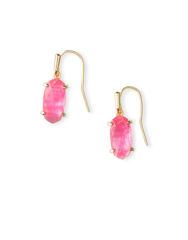 KENDRA SCOTT LEMMI EARRING GOLD AZALEA ILLUSION