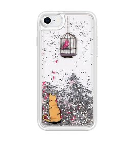 VERA BRADLEY 23010 Glitter Flurry Case for iPhone 7/8 Cat's Meow