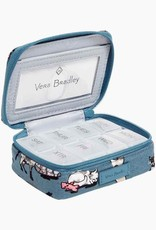 VERA BRADLEY 22970 Iconic Travel Pill Case Cat's Meow