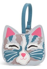 VERA BRADLEY 26027 Iconic Whimsy Luggage Tag Cat's Meow
