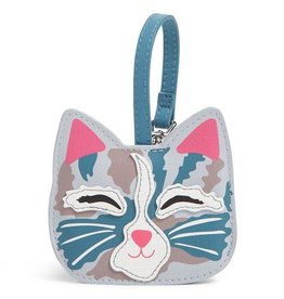 VERA BRADLEY Iconic Whimsy Luggage Tag Cat's Meow