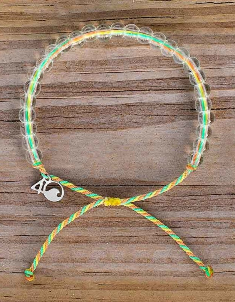 4OCEAN SEA STAR GREEN/YELLOW/CORAL BRACELET