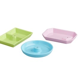 NORA FLEMING Melamine Dainty Dishes 3 Pc Set