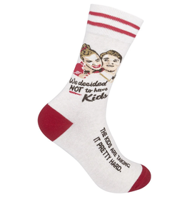 FUNATIC Crew Socks-We Decided Not To Have Kids