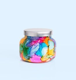 CAPRI BLUE 19oz. Jar Candle Volcano Rainbow Signature Watercolor WATERCOLOR COLLECTION