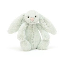 JELLYCAT INC. BASHFUL BUNNY SMALL SEASPRAY