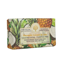 AUSTRALIAN NATURAL SOAP BAR SOAP PINEAPPLE, COCONUT & LIME