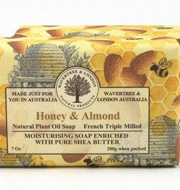 AUSTRALIAN NATURAL SOAP HONEY & ALMOND SOAP