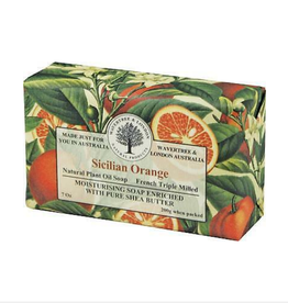 AUSTRALIAN NATURAL SOAP BAR SOAP SICILIAN ORANGE