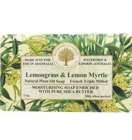 AUSTRALIAN NATURAL SOAP LEMONGRASS & LEMON MYRTLE SOAP