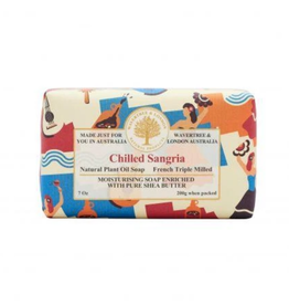 AUSTRALIAN NATURAL SOAP BAR SOAP CHILLED SANGRIA