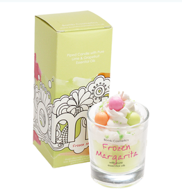 BOMB COSMETICS FROZEN MARGARITA PIPED CANDLE BOMB