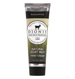 DIONIS INC DIONIS -Eucalyptus Natural Goat Milk Hand Cream 1 oz.