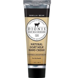 DIONIS INC DIONIS -Vanilla Bean Natural Goat Milk Hand Cream 1oz.