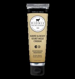 DIONIS INC Vanilla Bean Goat Milk Hand & Body Cream 3.3 oz.