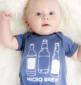 EMERSON AND FRIENDS Onesie 0-3M Micro Brew Baby