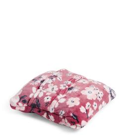 24786 Plush Fleece Travel Blanket Strawberry Grand Garden