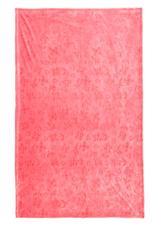 VERA BRADLEY Plush Throw Blanket Sweethearts and Flowers