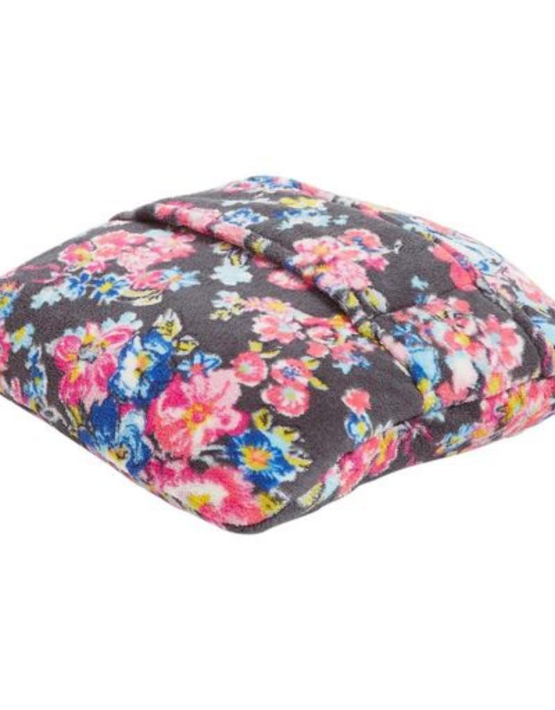 15564 Fleece Travel Blanket Pretty Posies